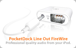 PocketDock Line Out FW