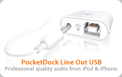 PocketDock Line Out USB