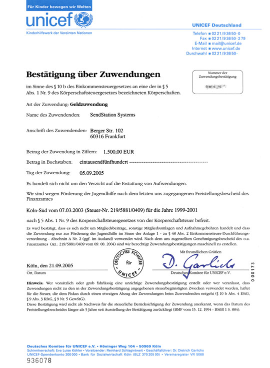Letter Of Application For Donation